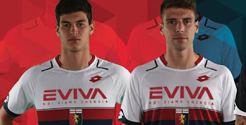 4f4f723d07e Genoa 17-18 Home   Away Kits Revealed