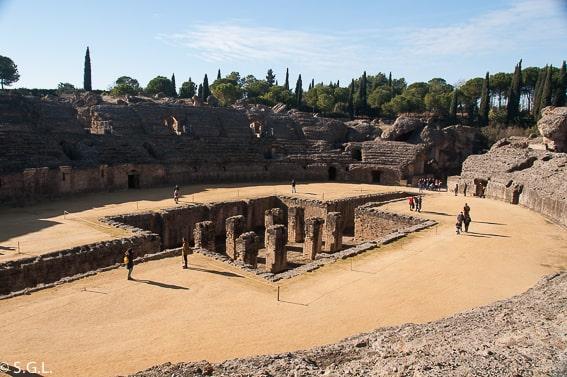 Anfiteatro de Itálica, la ciudad romana de Sevilla