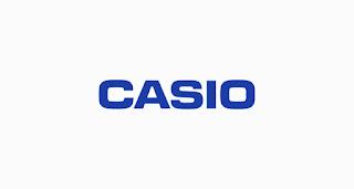 Casio خط لوجو