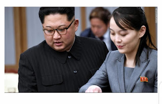 Youngest child of former North Korean leader Kim Jong Il makes history by taken over a key North Korean post