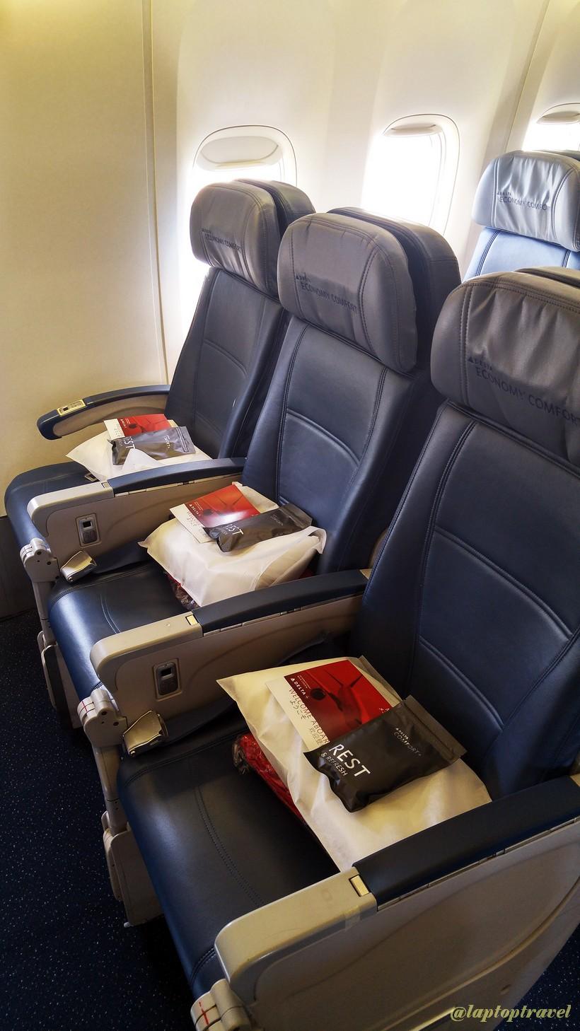 New York to Tokyo Non-Stop Delta 757-200 International