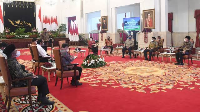 Ikut Pertemuan Parpol di Istana, PAN Resmi Gabung Koalisi Jokowi