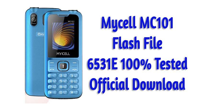 Mycell MC101 Flash File