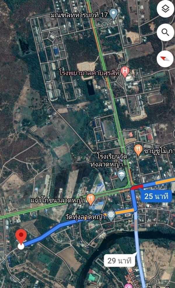 ลดราคา ขายที่ดินกาญจนบุรี ราคาถูก ทำเลดี 2 งาน 40 ตรว. ติดถนน แหล่งชุมชน ม.ท่าเสา