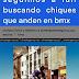 ARGENTINA: Se buscan CHIQUES que anden en BMX y HOMBRES TATUADOS de 40 a 60 años para COMERCIAL