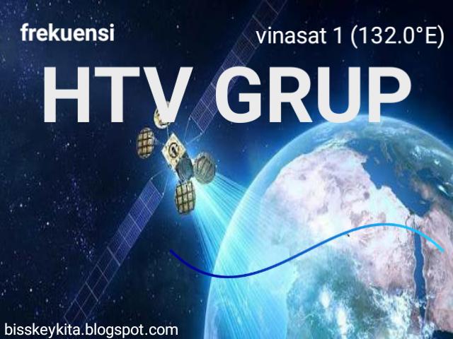 Frekuensi Chanel HTV Grup di Vinasat 1