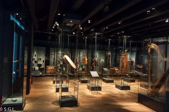 Sala del Museo Ringve, en Trodemheim. Noruega