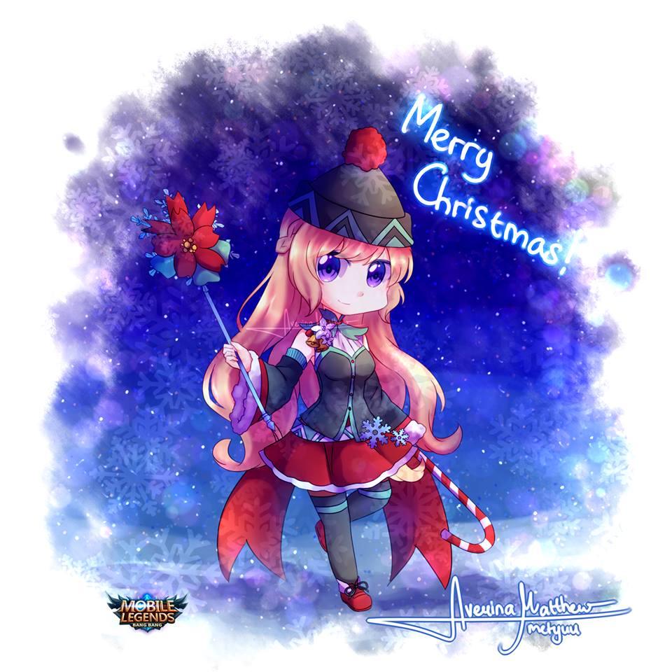 22 Chibi Odette fanart Christmas Special Skin