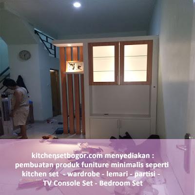 jual kitchen set bogor
