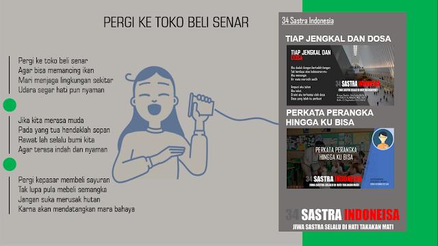 1000 Kumpulan Pantun terbaru PERGI KE TOKO BELI SENAR | 34 Sastra Indonesia