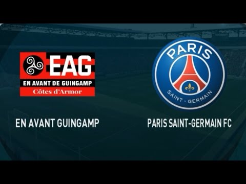 GUINGAMP VS PARIS SAINT GERMAIN HIGHLIGHTS AND FULL MATCH