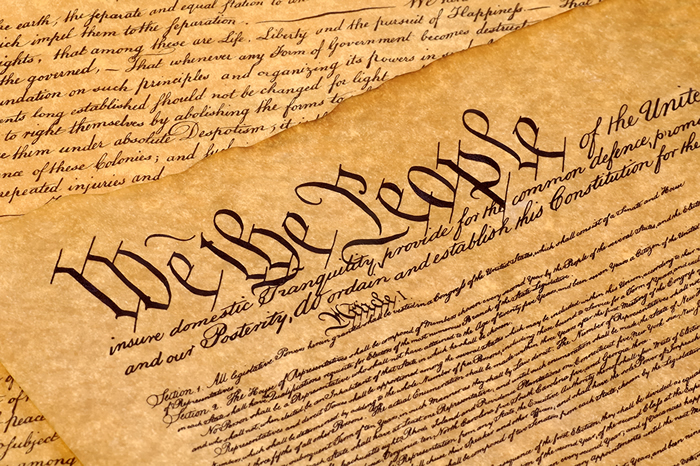 The Constitution of the U.S. of America was U.S. Constitution