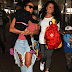 MPNAIJA GIST:PHOTOS Chris Brown's mum, baby mama and daughter pictured at the airport