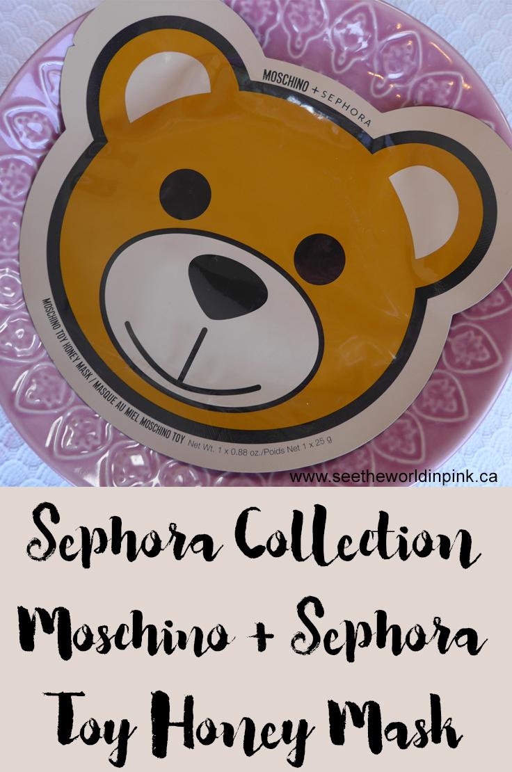 Skincare Sunday - Moschino + Sephora Collection Toy Honey Mask