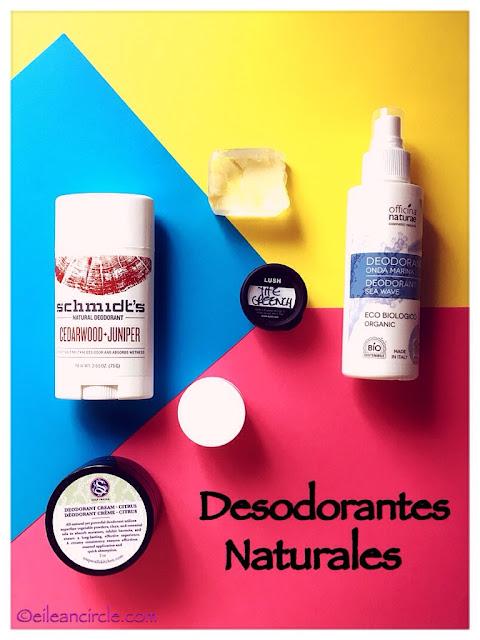 desodorantes naturales cosmética natural
