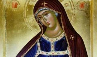 Η μοναδική εικόνα της Παναγίας που την δείχνει τριών χρονών