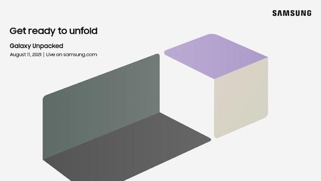 نشرت شركة سامسونج الدعوة الرسمية لحدث Unpacked 2021