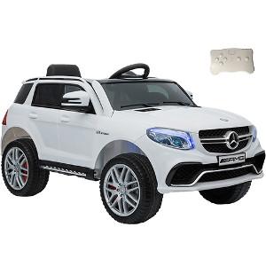 Carro Elétrico Infantil 12V modelo Mercedes Benz AMG Branca GLE63S - brink+