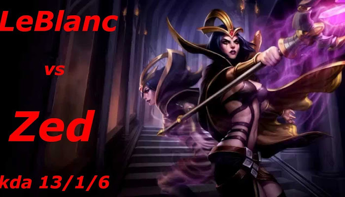 TMTkroki *BoMb | Ranked | LeBlanc kda 13/1/6 | League of Legends | LoL