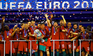 Portugal beat France to win Euro 2016 final