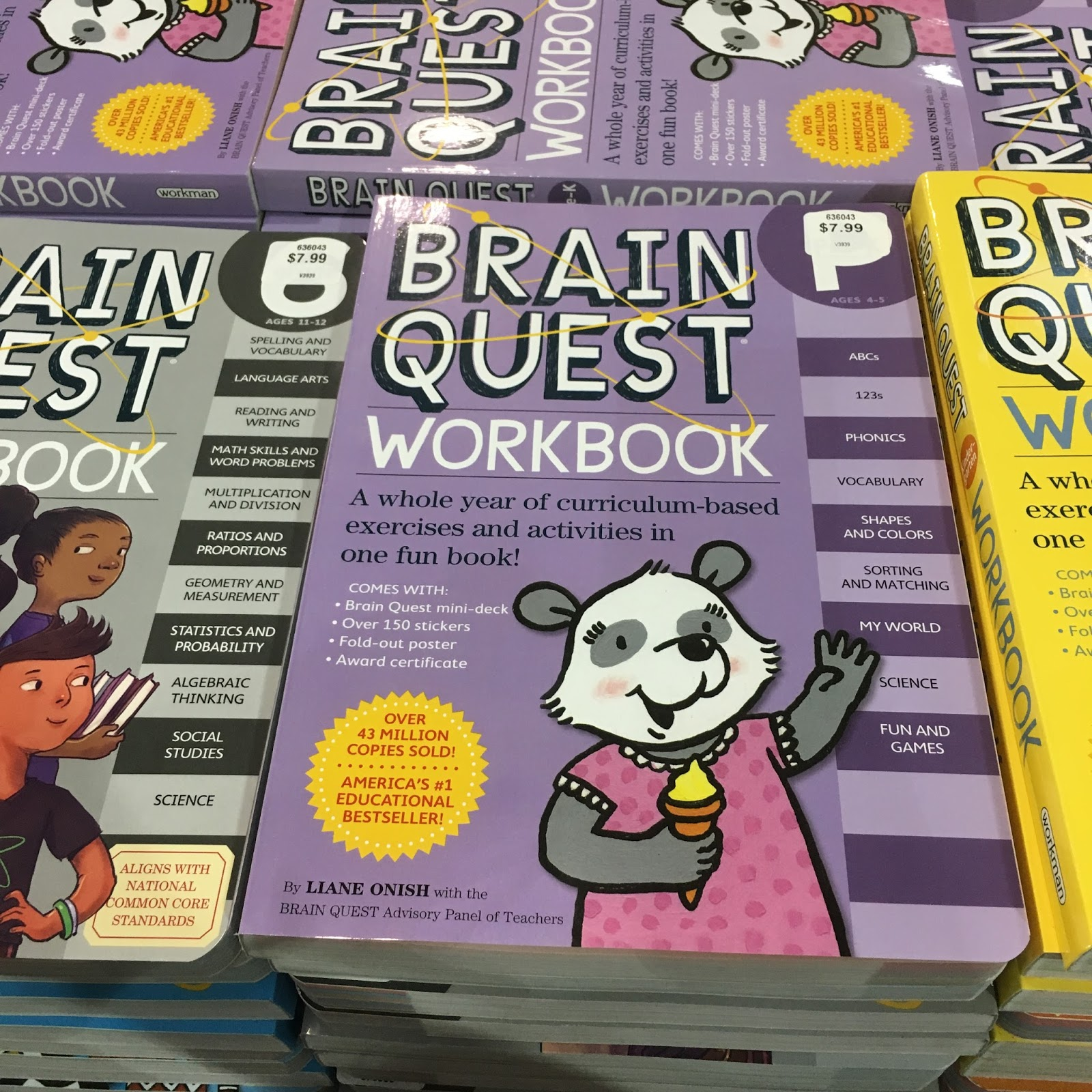 the Costco Connoisseur: Save on Grade School Workbooks at Costco! [ 1600 x 1600 Pixel ]
