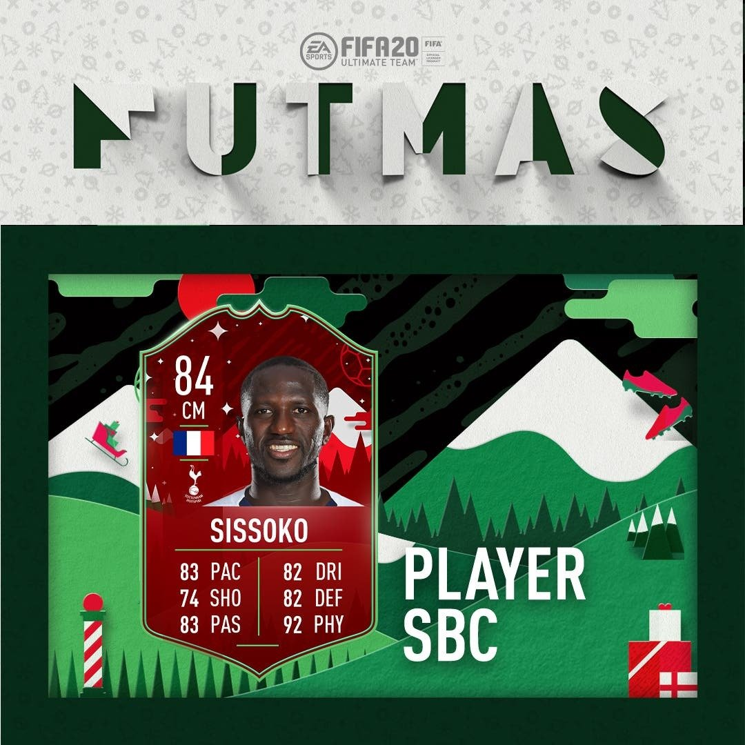 In FIFA 20, two FUTMAS cards appeared each day in SBC.