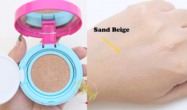 a swatch photo of Cathy Doll AA Automatic Aura Cushion in Sand Beige
