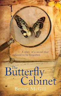 The Butterfly Cabinet by Bernie McGill book cover