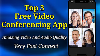 Top 3 Free Video Conferencing App | Best High Video And Audio Quality Cloud Meeting App