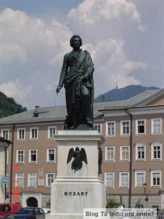 Nascimento de Mozart, em Salzburg