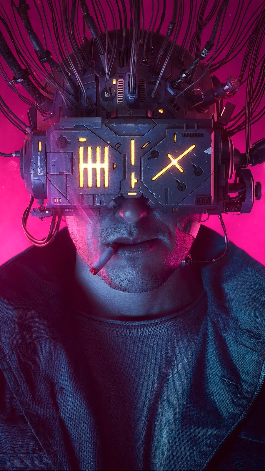 4k wallpaper phone - cyberpunk