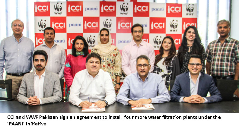 "Four more filtration plants to be added to the safe water initiative ""PAANI"""