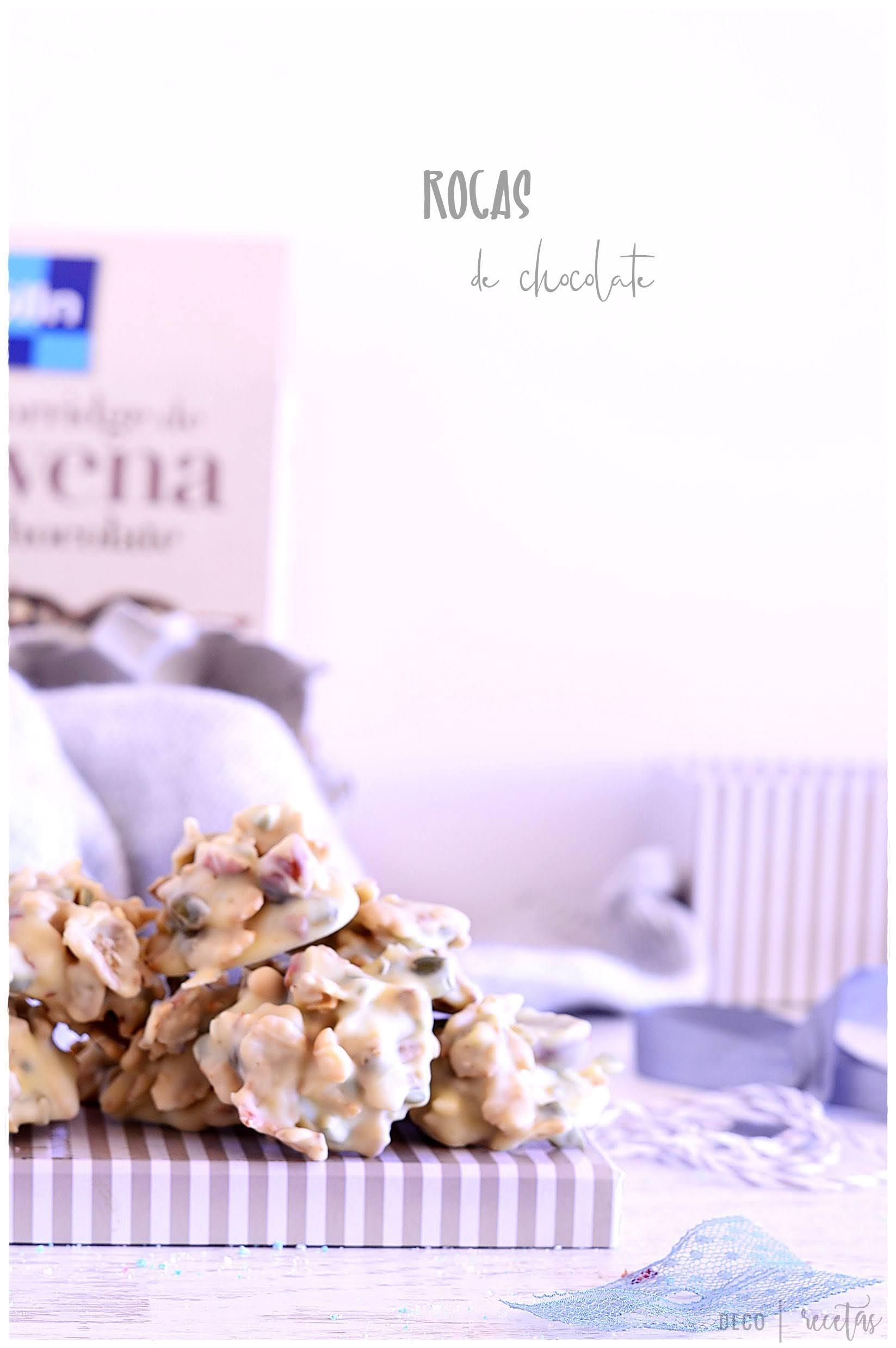 Rocas de chocolate y cereales-cómo hacer bombones caseros para navidad