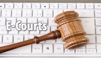 Office of the District, e- Courts, Odisha, Clerk, Stenographer, 12th, freejobalert, Sarkari Naukri, Latest Jobs,  e-courts puri logo