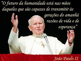 Orando Pela Intercessão De São João Paulo Ii Por Todos Que Vão Fazer