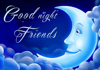 Beautiful Good Night Picture for Friend