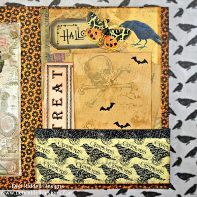 Halloween Folio Inside Pocket