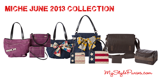 Miche June 2013 Collection Product Release at MyStylePurses.blogspot.com