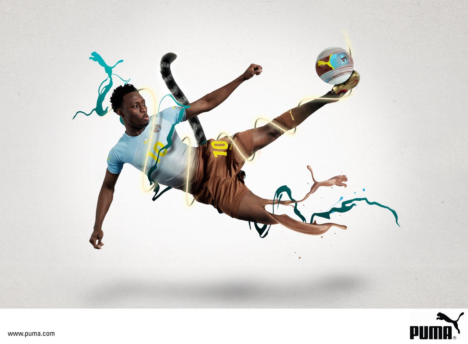 daily beautiful illustrations # 54 : puma sports ads - da ...