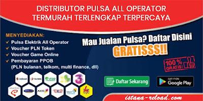 Distributor Pulsa Elektrik All Operator Harga Grosir