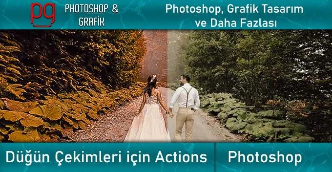 Photoshop Düğün Presetleri | Wedding Actions