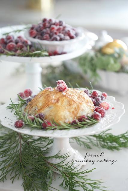Christmas Kitchen~ Candied Pecan & Cranberry Brie en Croute