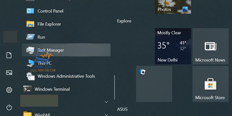 12 طريقة لفتح إدارة المهام في Windows 10