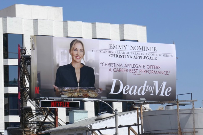 Dead to Me 2019 Emmy nominee billboard