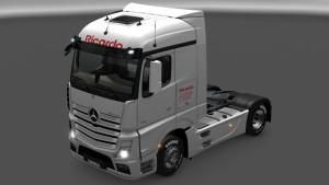 Ricardo Skin for Mercedes MP4