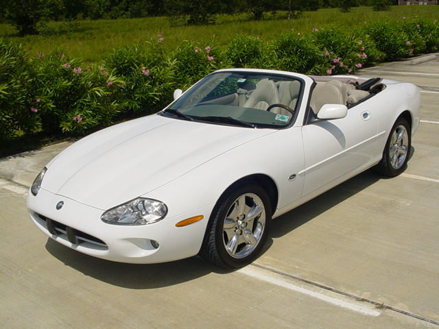 Things I Think I Think: 1997 Jaguar XK8 Convertible