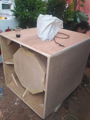 Box speaker subwoofer 18 BOM-70