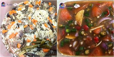 Resepi Nasi Daging Air Asam Kerisik