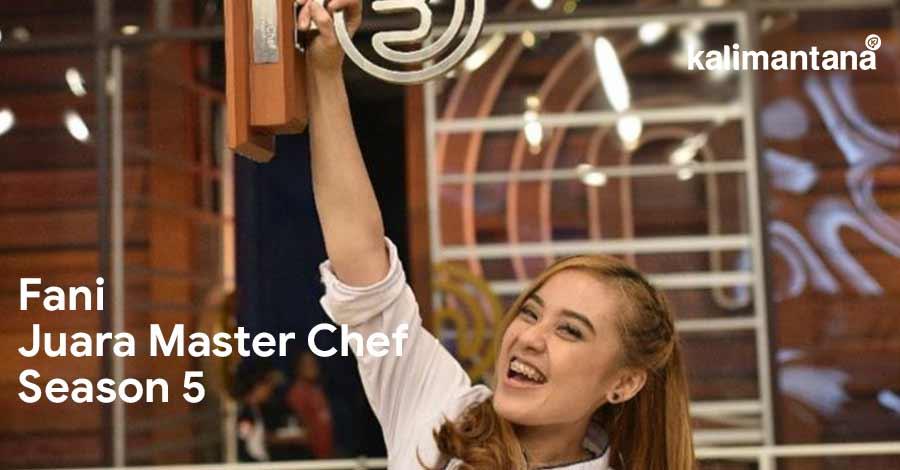 Fani juara Master Chef
