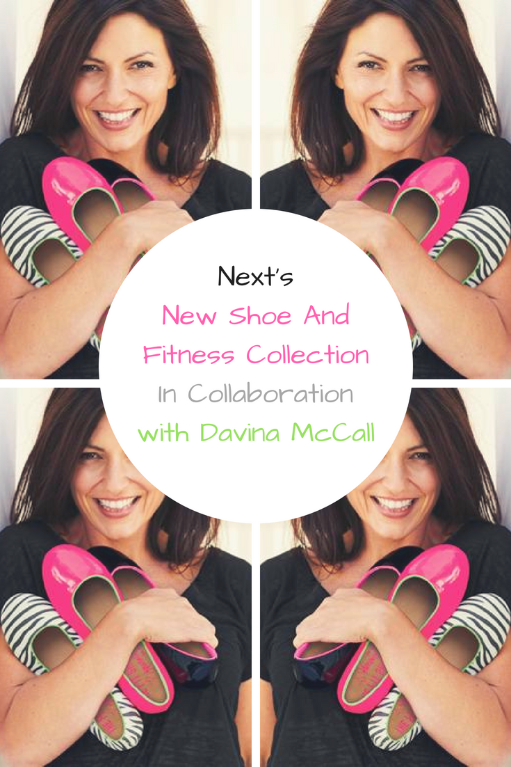 Next's New Shoe And Fitness Collection In Collaboration with Davina McCall